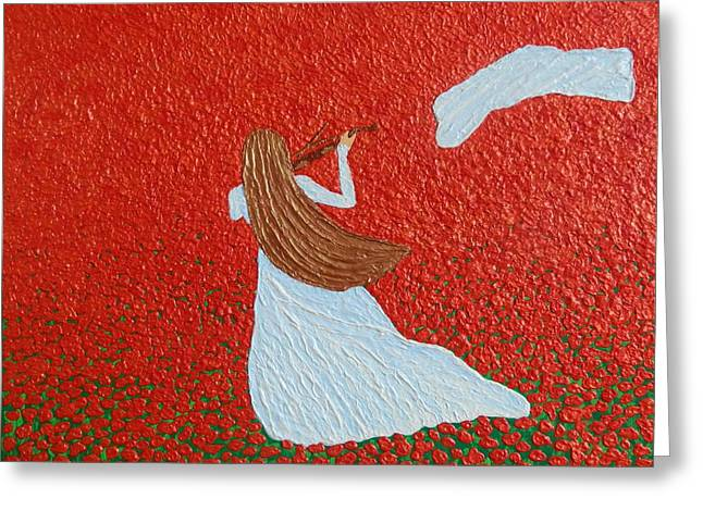 Impressionist Reliefs Greeting Cards - Spring Overture Greeting Card by Liza Wheeler