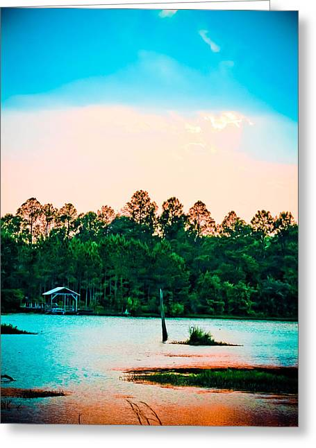 Blalock Greeting Cards - Spring Reflections Greeting Card by Dana  Oliver