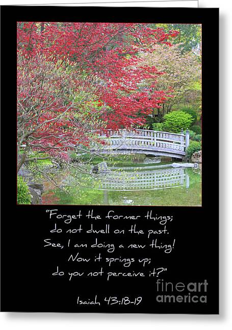 Renewing Photographs Greeting Cards - Spring Revival Greeting Card by Carol Groenen