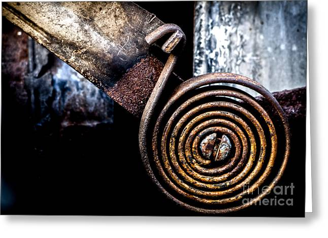 Mechanism Greeting Cards - Spring Roll Greeting Card by James Aiken