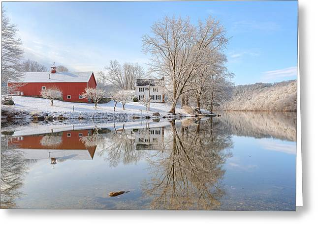 Spring Snow 2016 Greeting Card by Bill Wakeley