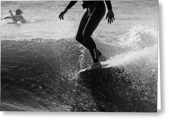 Surfing Art Greeting Cards - Spring Soul Greeting Card by AM Photography