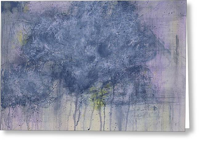 Spring Storm Greeting Card by Kristina Grant
