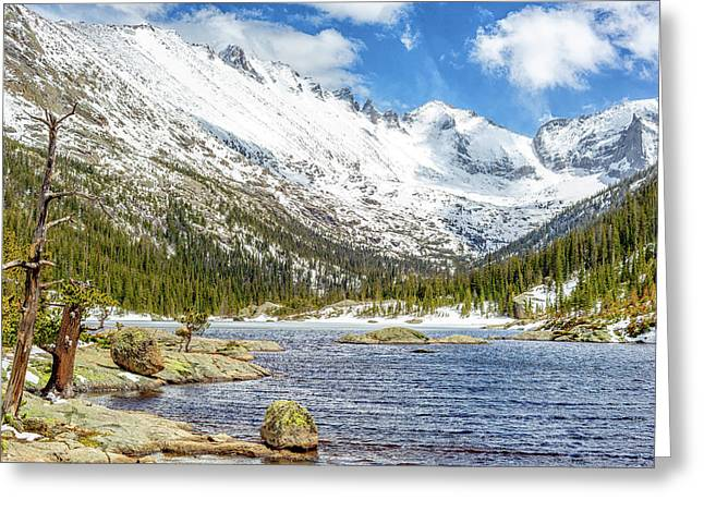 Mills Glacier Greeting Cards - Spring Thaw Greeting Card by Eric Glaser