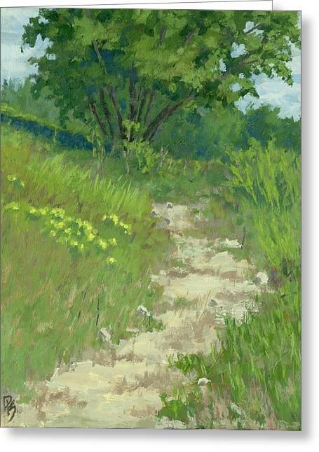 Spring Walk Greeting Card by David King