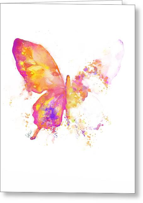 Mystic Drawings Greeting Cards - Springtime Butterfly Greeting Card by Cindy Elsharouni