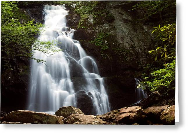 Tennessee River Digital Greeting Cards - Spruce Flat Falls II Greeting Card by Amanda Kiplinger