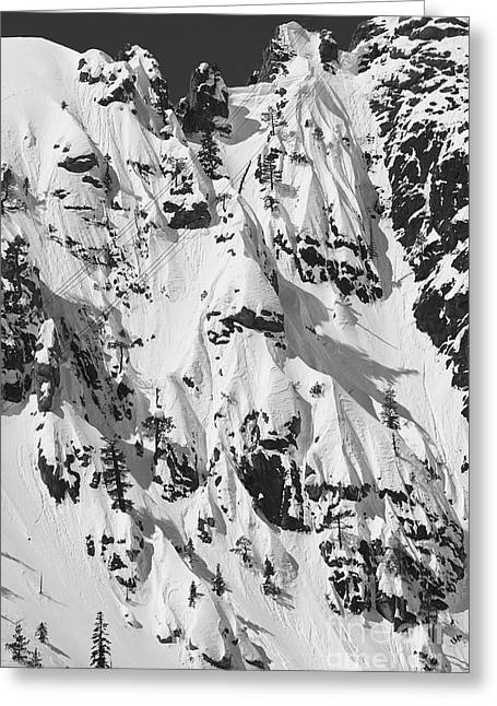 Snowboard Greeting Cards - Squaw Valley Forbidden Fruit Greeting Card by Dustin K Ryan