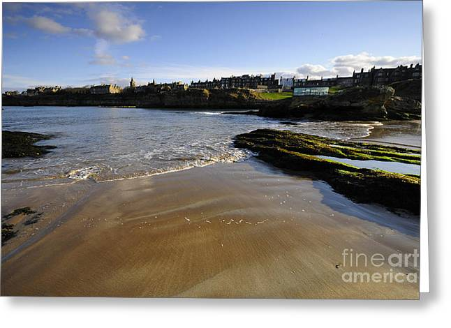 St Andrews Greeting Card by Stephen Smith