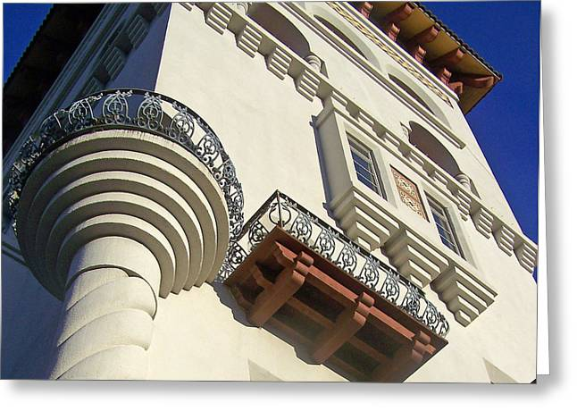 St. Augustine Spanish Colonial Ornate Greeting Card by Patricia Taylor