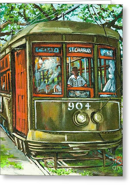 New Orleans Greeting Cards - St. Charles No. 904 Greeting Card by Dianne Parks