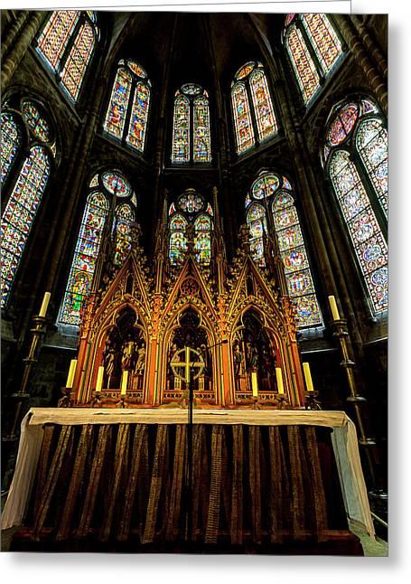 St. Elizabeth Church Greeting Card by David Morefield