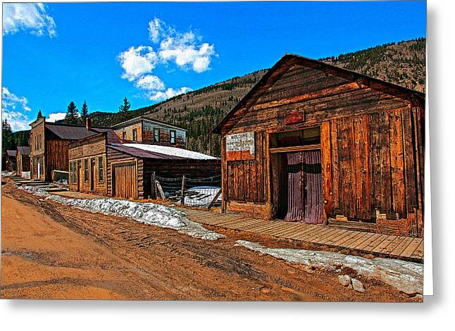 Ravaged By Time Greeting Cards - St Elmos Fire Greeting Card by Mike Flynn