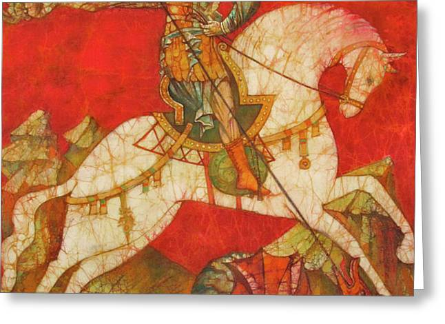 St George II Greeting Card by Tanya Ilyakhova