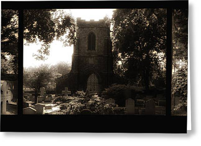 The Church Greeting Cards - St James the Less Greeting Card by Bill Cannon