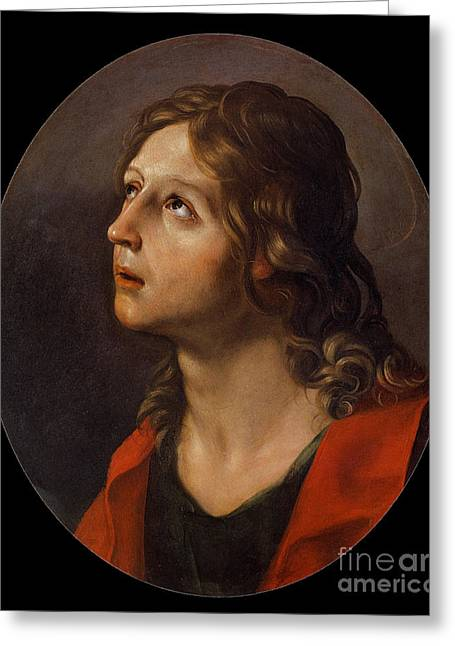 St. John The Evangelist  Greeting Card by Guido Reni