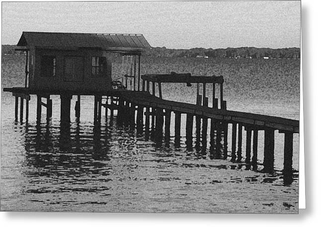 Jacksonville Greeting Cards - St. Johns Boathouse Greeting Card by Ross Lewis