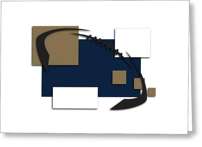 St Louis Greeting Cards - St Louis Rams Abstract Shirt Greeting Card by Joe Hamilton