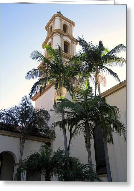 Ventura California Greeting Cards - St. Mary Magdalenes Greeting Card by MaryEllen Frazee