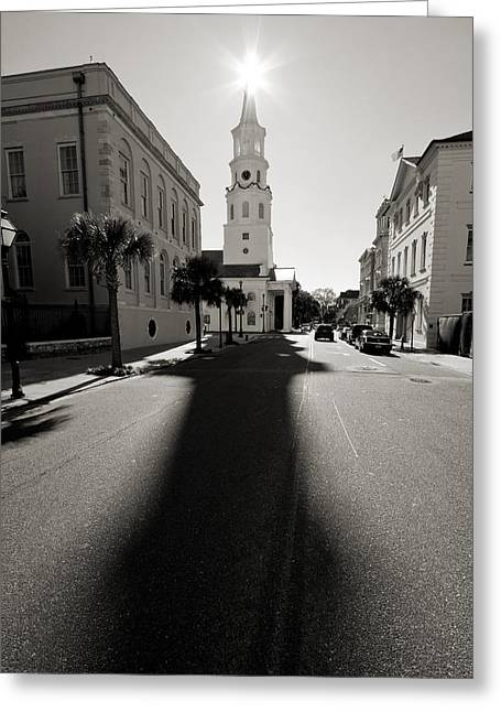 St Michaels Church Charleston Sc Greeting Card by Dustin K Ryan