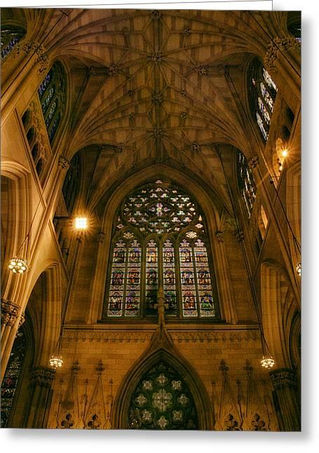 St. Patrick's Glory Greeting Card by Jessica Jenney