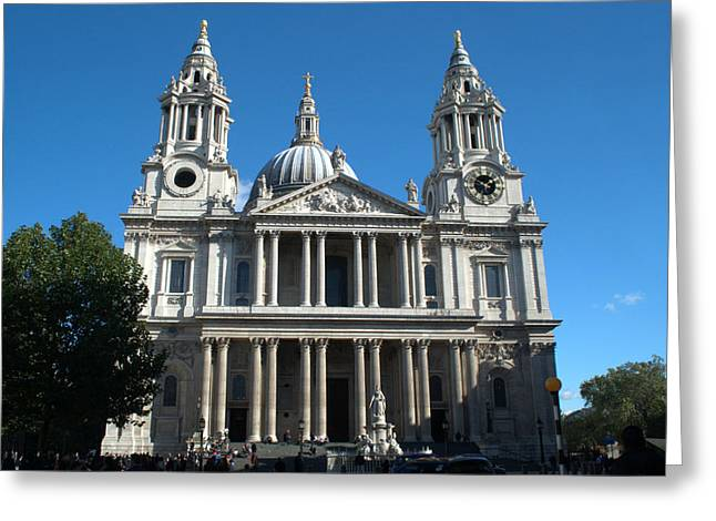 St Pauls Cathedral Greeting Card by Chris Day