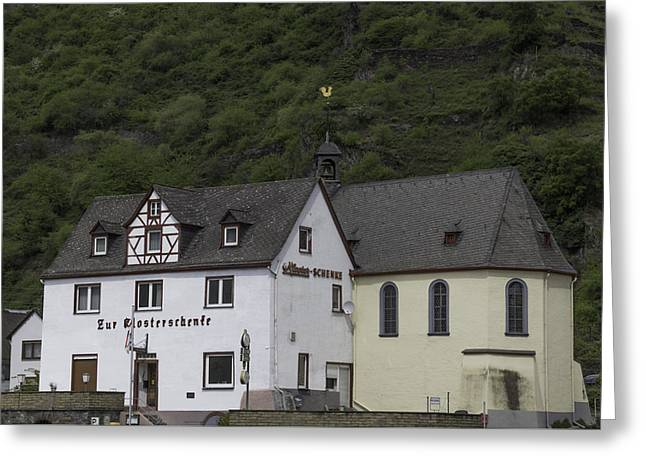 Kloster Greeting Cards - St Sebastian Church Ehrenthal Germany Greeting Card by Teresa Mucha