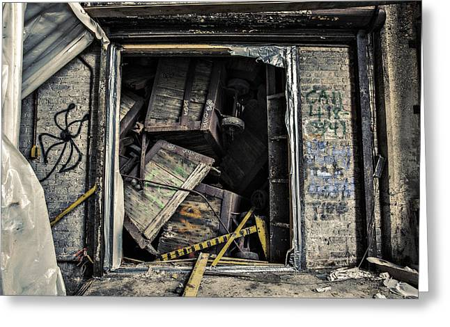 Stacked Greeting Card by CJ Schmit