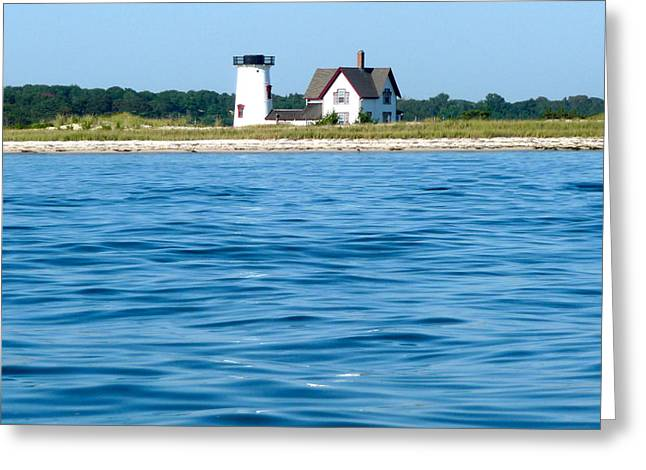 Chatham Greeting Cards - Stage Harbor Waters Greeting Card by Heather MacKenzie