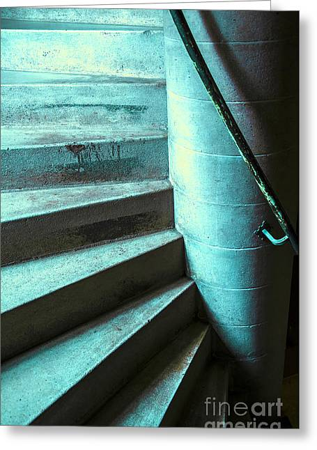 Stair Greeting Card by Svetlana Sewell