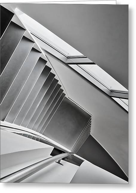 Staircase Greeting Cards - Staircase Greeting Card by Henk Van Maastricht