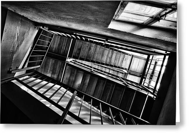 Staircase Greeting Card by Nailia Schwarz