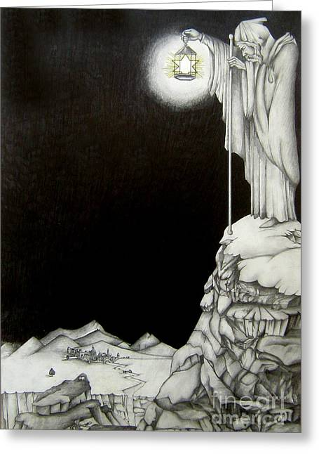 Stairway To Heaven Greeting Card by Patrice Torrillo