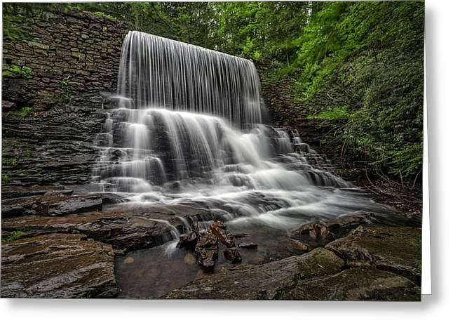 Shades State Park Greeting Cards - Stametz Dam Greeting Card by Rick Berk