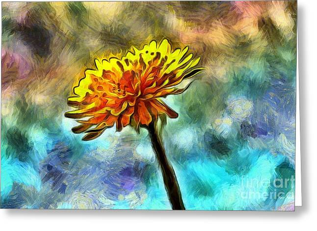 Wishes Greeting Cards - Stand Out Greeting Card by Krissy Katsimbras