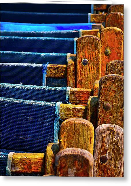 Standing Room Only Greeting Card by Skip Hunt