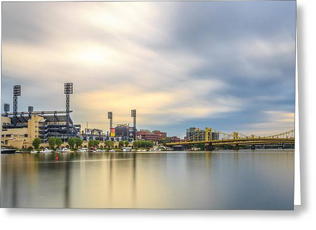 Clemente Greeting Cards - Standing Still Greeting Card by John Duffy