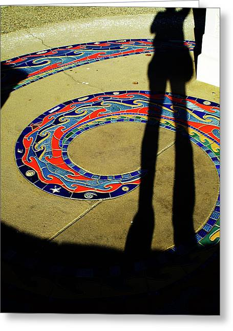 Self-portrait Greeting Cards - Standing Tall Greeting Card by Gary Brandes