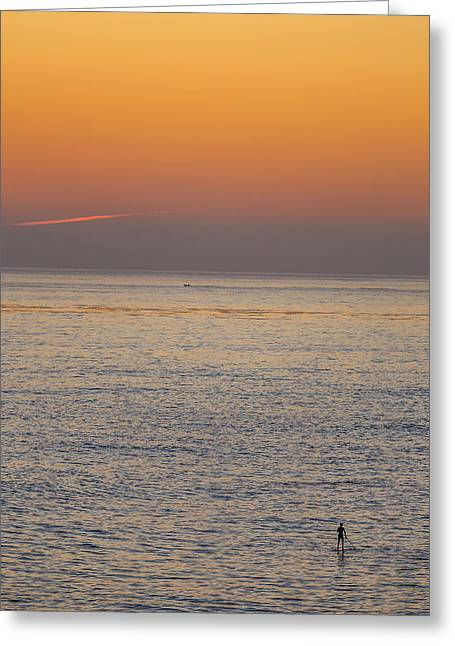 Beach Greeting Cards - Standing Water Greeting Card by Peter Tellone