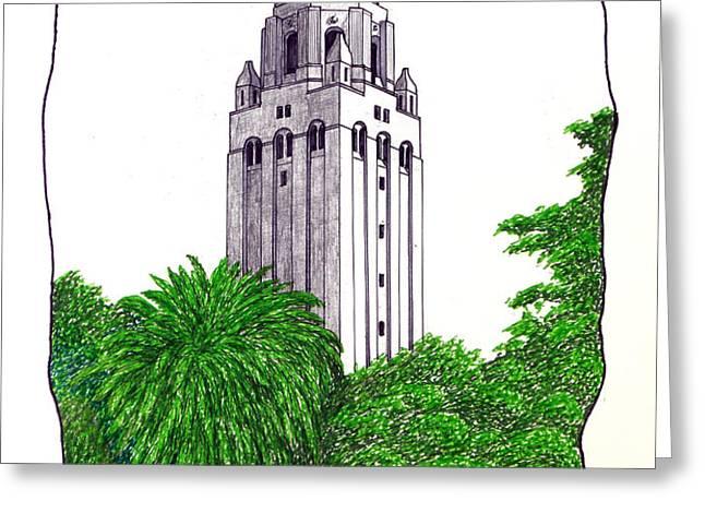 STANFORD Greeting Card by Frederic Kohli