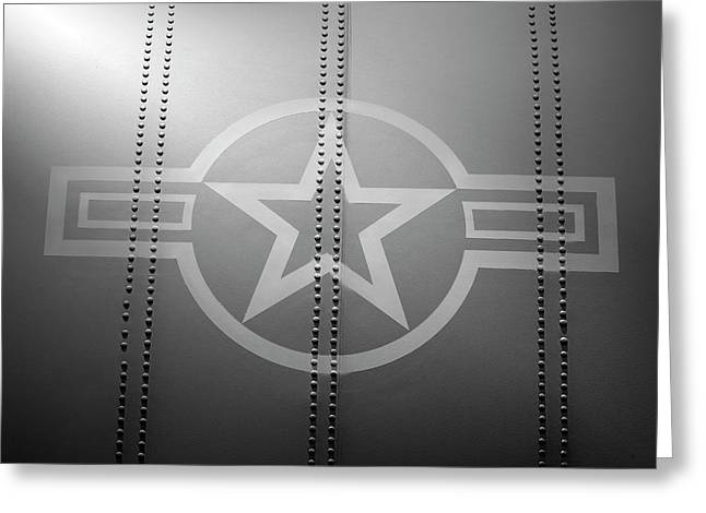 Star And Bars Greeting Card by Brandon Griffin