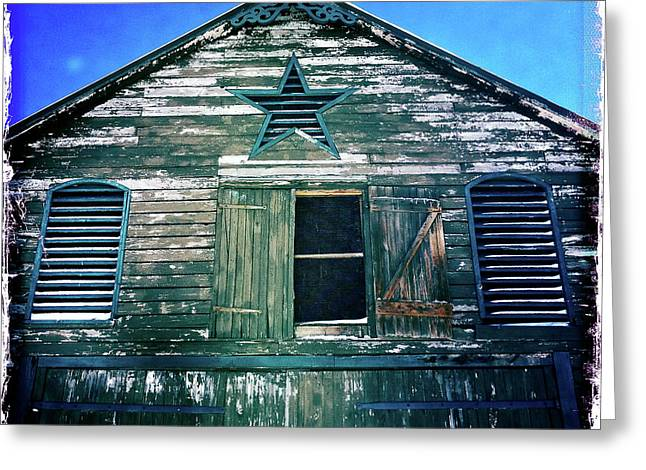 Star Barn I Greeting Card by Kevyn Bashore