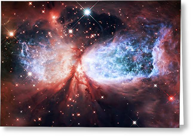 Space Art Greeting Cards - Star Gazer Greeting Card by The  Vault - Jennifer Rondinelli Reilly