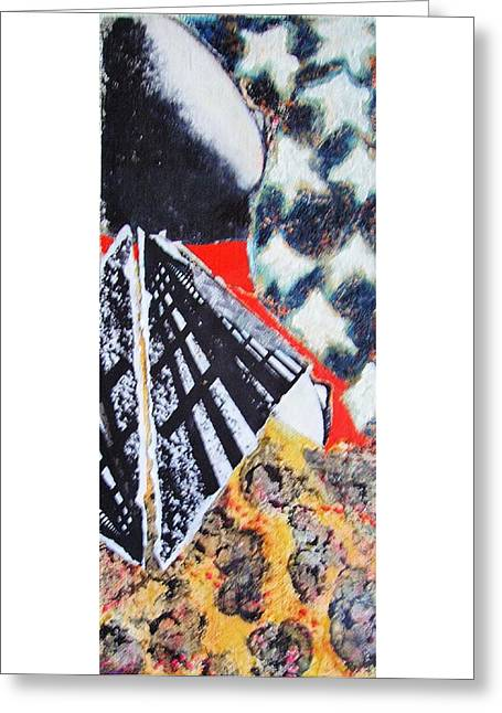 Installation Art Greeting Cards - Star I Greeting Card by Rene Hinds