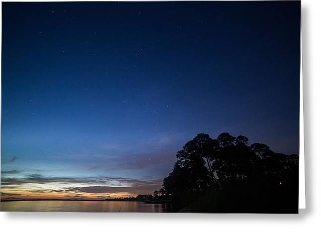 Panama City Beach Greeting Cards - Star light Greeting Card by Carol Youorski