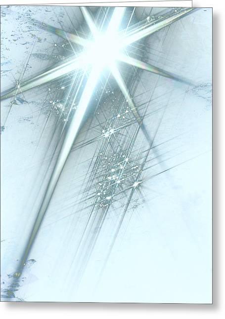Star Of Wonder Greeting Card by Ellen Henneke