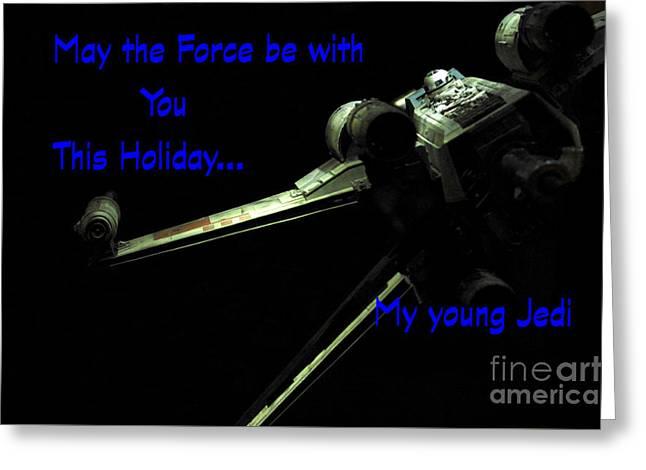 Star Wars Birthday Card 5 Greeting Card by Micah May