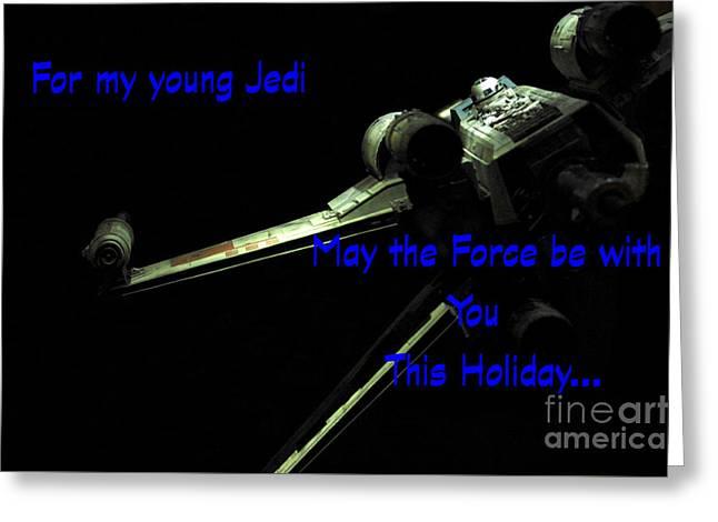 Star Wars Birthday Card 7 Greeting Card by Micah May