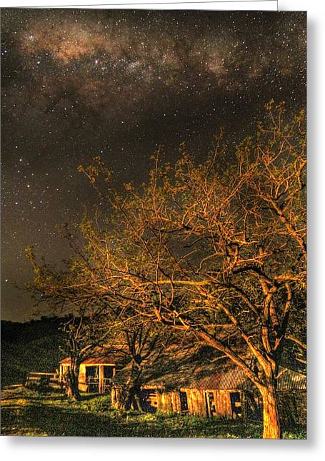 Shack Greeting Cards - Stardust Memories Greeting Card by David Watson