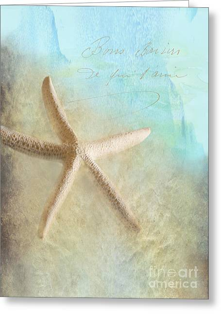 Starfish Greeting Card by Betty LaRue